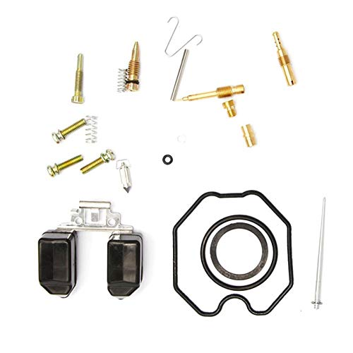 ZHANGNING Carburetor Repair Kit Keihin CG Motorcycle Repair Kit Motorcycle Carburetor PZ27 PZ30 Repair Kit CG150 CG250 Carbon Fiber Motorcycle Overhaul kit (Color : PZ27)