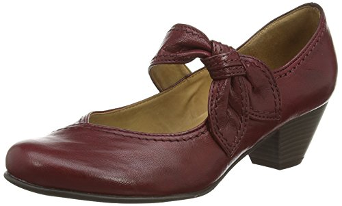 Gabor Damen Basic Pumps, Rot (Dark Red Leather), 42 EU