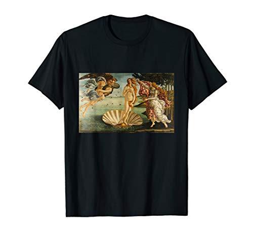 Die Geburt der Venus von Sandro Botticelli T-Shirt