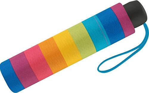 United Colors of Benetton Mini-Regenschirm für Damen, 8Speichen, 95cm Durchmesser Mehrfarbig bunt 95 cm