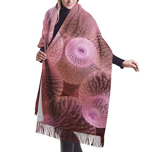 Liquor S Schal Farbe Qualle Gemütlich Weich Mode Winter Warm Großer Schal Langer Schal