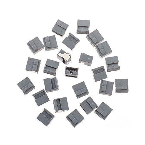 Wago MICRO-Verbindungsdosenklemme 4 x 0,6-0,8 mm, 25 Stück, grau, 243204