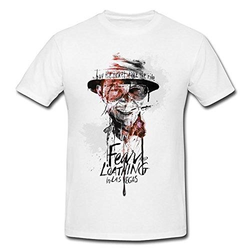 Fear and Loathing in Las Vegas Premium Herren T-Shirt Motiv aus Paul Sinus Aquarell
