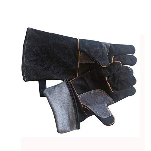 WG Barbecue handschoenen van 16 inch, extreem hittebestendig/hoge temperatuur snijhandschoenen, geschikt voor alle warmtebehandelingen, buitenwerk