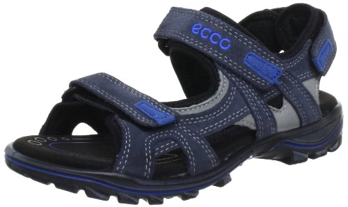 Ecco ECCO Urban Safari Kids - Sandalias de Cuero Infantil, Color Negro, Talla 32