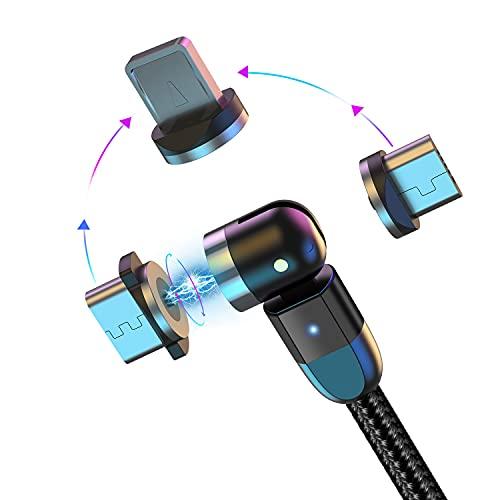 Cable de Carga magnético Cable USB con imán 3 en 1 Cable d