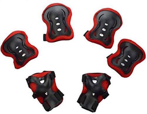 Skates Skates Conjuntos de protectores, almohadillas de rodilla para niños Conjunto de protector de muñeca Conjunto de protector de rodilla Conjunto de protector de codo Protector de rodilla de mano (