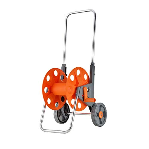 Fuxtec Schlauchwagen FX-SWG1 für Gartenschlauch Schlauchtrommel Schlauchaufroller