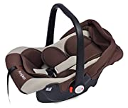 Ultralight Weight Design - Allows you to keep your child close without your arm getting tired. Multi Positions – Little Pumpkin Infant Car Seat can be used as Infant Baby Car seat, Carry Cot, Rocker and Feeding Chair as well when used in different po...