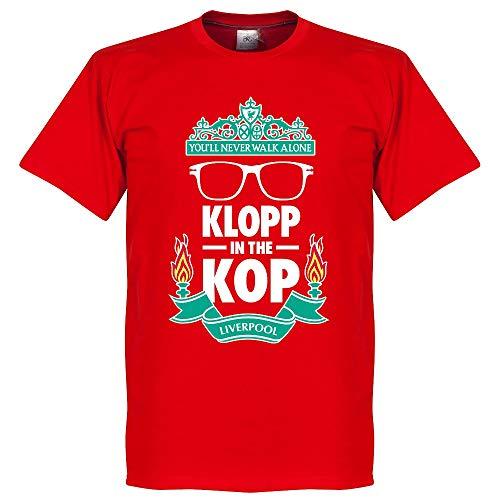 Klopp on The Kop T-Shirt - rot - XXXL