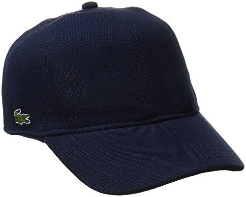 Lacoste Mens Cotton Pique Cap Baseball Cap, Navy Blue