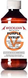 Wocklean Purple Relaxation Syrup (8oz)