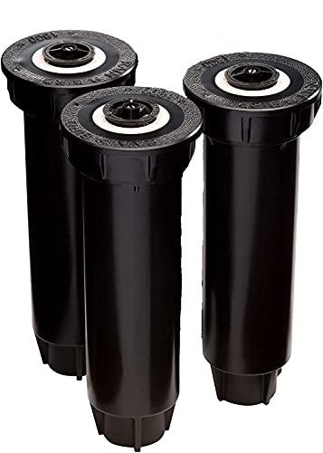 "Rain Bird 1804VAN Professional Pop-Up Sprinkler, Adjustable 0° - 360° Pattern, 8' - 15' Spray Distance, 4"" Pop-up Height (3 Pack)"