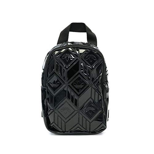 adidas Bp Mini 3D, Damen IXO91-GD2605 3D Rucksack für Damen, Schwarz, One Size, Talla Única