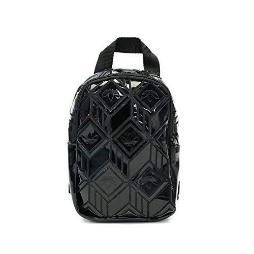 adidas IXO91-GD2605 Mochila BP Mini 3D para Mujer, Negro, Talla Única Womens