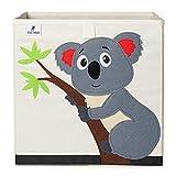 Caja de almacenamiento para niños I Caja de juguetes para habitación infantil (33 x 33 x 33 cm) para almacenamiento en estantería Kallax I Caja plegable de almacenamiento de juguetes para niños