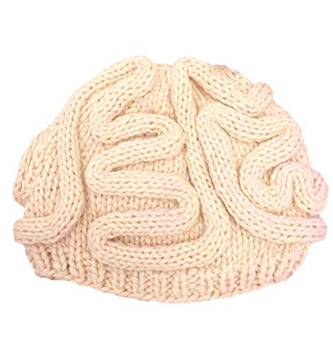 Stafeny - Cappello da donna in pile, antivento, per campeggio, equitazione, in lana, lavorato a maglia, da sci, per il tempo libero Beige Taglia unica