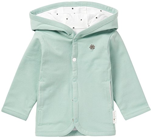 Noppies Unisex Baby U Cardigan Jrsy REV Nusco-67380 Strickjacke, Grau (Grey Mint C175), 68