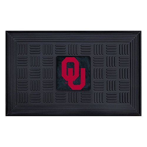FANMATS NCAA University of Oklahoma Sooners Vinyl Door Mat