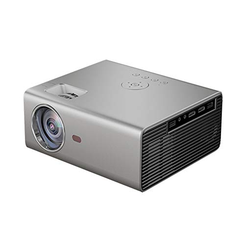 WANGLX ST YG825 Intelligenter Projektor Multimedia Film Beamer Unterstützung 1080P Kompatibel HDMI/USB/VGA/AV Zum Heimkino Unterhaltung Spiel Party Im Freien, Silver