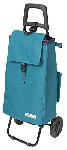 レップ(REP) ショッピングカート ブルー 容量40L 保冷 買い物 バッグ らくらく COCORO(コ・コロ) 423929