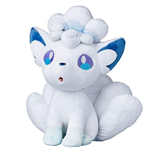 """Alola Vulpix Ninetales/Kyukon Figure Stuffed Animal Toys Plush Doll (11"""")"""