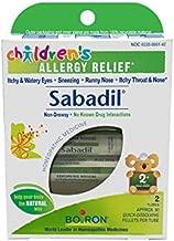 Boiron Children's Sabadil,2 Tubes (80 Pellets per Tube), Homeopathic Medicine for Allergy Relief