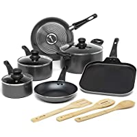 Ecolution 12-Piece Easy Clean Non-Stick Cookware Set