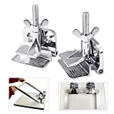 TECHTONGDA 2 pcs Butterfly Frame Hinge Clamp /DIY Tool Silk Screen Printing Hobby Printer