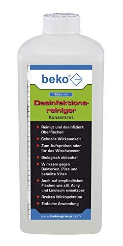 BEKO 299361000 TecLine Desinfektionsreiniger -Konzentrat- 1 l Flasche