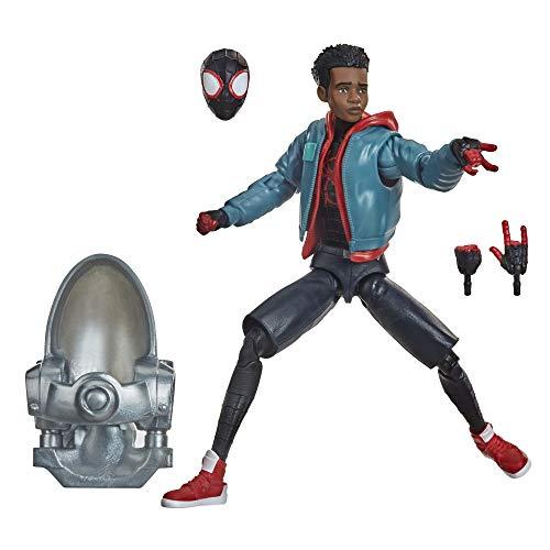 Hasbro Marvel Legends- Legends 1 Series, Spider-Man: Un Nuovo Universo, Action Figure di Miles Morales da 15 cm da Collezione, F02535X0