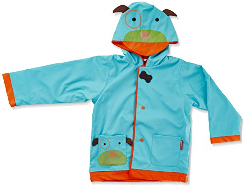 SkipHop Little Kid & Toddler Girls' Zoo Raincoat, Darby Dog, Small (2)