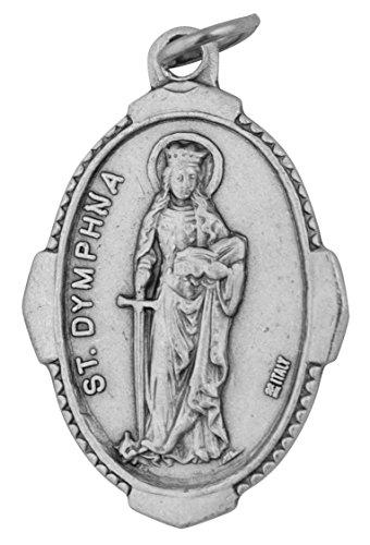 Venerare Traditional Catholic Saint Medal (Saint Dymphna)