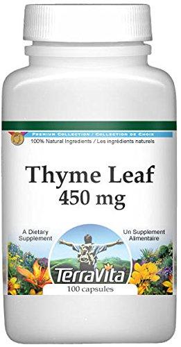 Thyme Leaf - 450 mg (100 Capsules, ZIN: 511121)