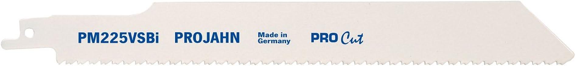 Projahn 64237 PM225VS - Hoja de sierra sable (205 x 10-14 mm, bimetal, VE5, Pro Cut)