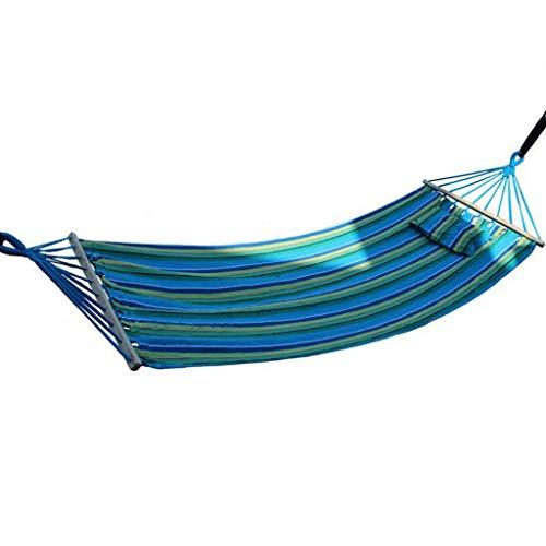WYH Hammock Acampar Hamaca - Ligero Hamaca Doble, hamacas portátiles for Interior, Exterior, Senderismo, Camping, Senderismo, Viajes, Patio Trasero, Playa Columpio