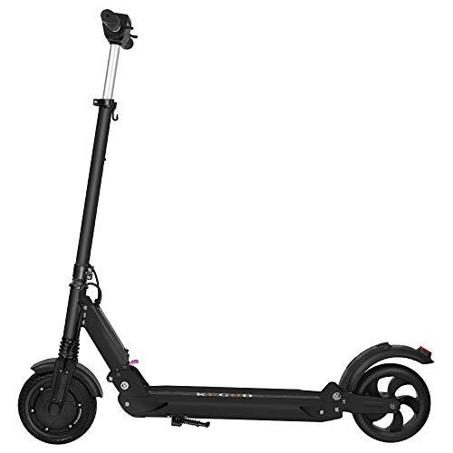 """Patinete Eléctrico portátil Plegable - Neumáticos sólidos de 8.5"""" - 350W Motor - hasta 25 KM de Largo Alcance y 25 KM/H Scooter para Adultos - S1 (Negro)"""
