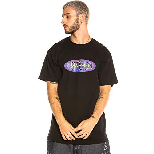 GRIMEY Camiseta Ghetto Love FW20 Black-XL