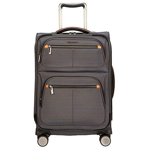 """Ricardo Montecito 21"""" Carry On Soft side Spinner Luggage (Gray, One Size)"""