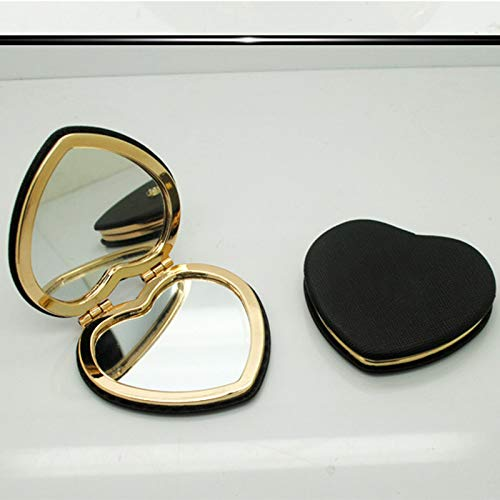 Mini Makeup Mirror, Compact Pocket Mirror, Portable Double-sided Folding Mirror