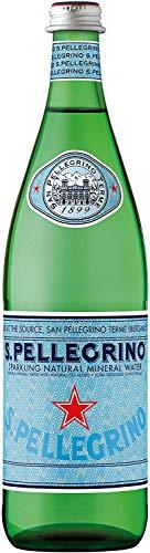 ネスレ サンペレグリノ 炭酸入りナチュラルミネラルウォーター 瓶 750ml×12本 直輸入品 [4861]