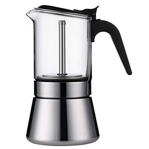 SIXAQUAE Espressokocher,Kaffeekocher,...