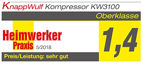 KnappWulf KW3100 – 100L – 250L/min – 10bar - 6