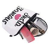 Funda de Viaje para Cosméticos Portátil Yesmile ❤️ para Mujeres y niñas Impresión de Cartas Bolsa de Maquillaje cosmético Almacenamiento de artículos de tocador Bolso de Viaje Lavado