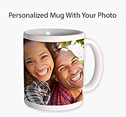 your photo coffee mug - personalized gifts for boyfriend