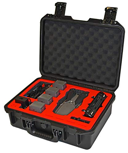 Drone Hangar Pelican Case – Compatible with Mavic 2 Pro or Mavic 2 Zoom model drones. Also holds Standard or Smart Controller and optional Fly More Kit accessories
