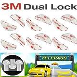 3M Dual Lock Adhesivo para Montaje Telepass Original,...