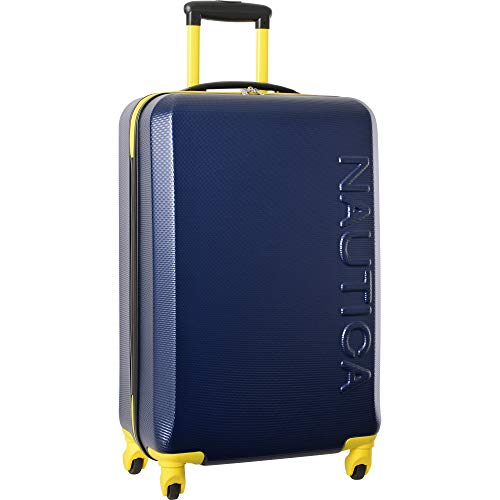 Nautica (NAUBM) Luggage, Navy/Yellow