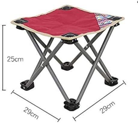 YG-ct Folding Vissen Chair Lichtgewicht Picnic Camping Chair Opvouwbare aluminium Doek Outdoor draagbare gemakkelijk mee te nemen Outdoor Furniture dmqpp (Color : S)