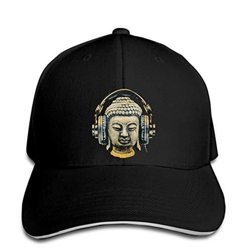Baseball Cap Dj Buddha Headphones Music Club Men Trance Goa Techno Hip Hop Hip Hop Men Rock Unisex Snapback Hat Peaked